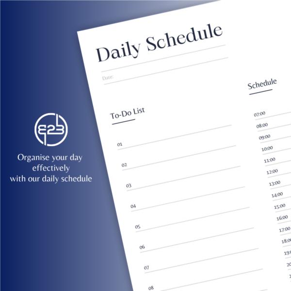 B2B Hub daily schedule