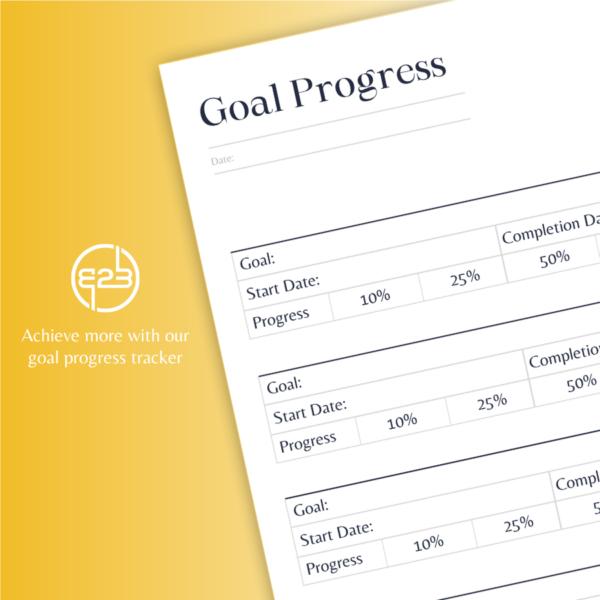 B2B Hub goal progress