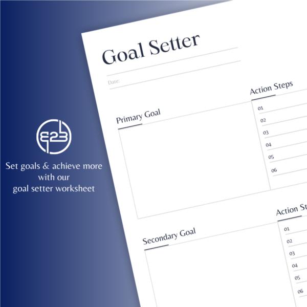 B2B Hub goal setter